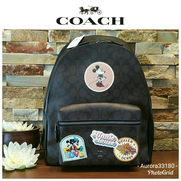 aeca721912c  LAST ONE  NEW Coach x MINNIE Mouse Backpack